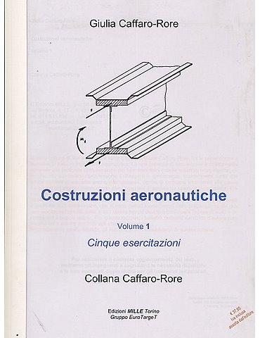 Costruzioni aeronautiche Vol.1
