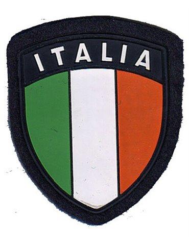 Scudetto Italia plastificato Blu