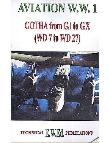 WW1 GOTHA G.I to G.X