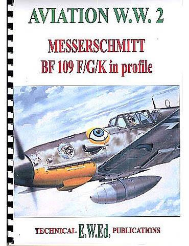 WW2 BF 109 F/G/K in profile