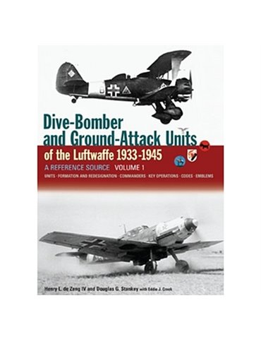Dive Bomber and Ground Attack Units Volume 1