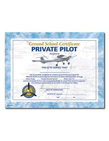 Attestato PRIVATE PILOT