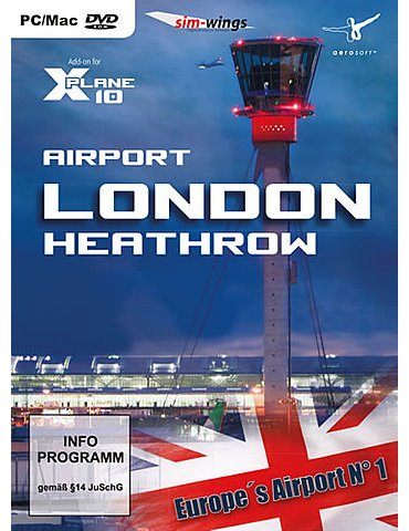Airport London Heathrow (X-Plane)