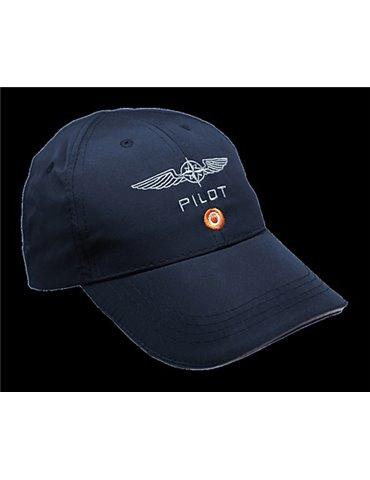 Cappellino Pilota Microfibra