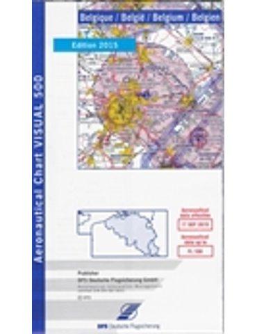 Belgio VFR 1:500 000 ICAO - 2015