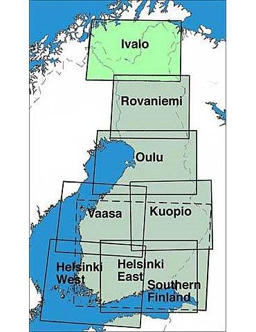 Finlandia VFR 1:500.000 VAASA 2015