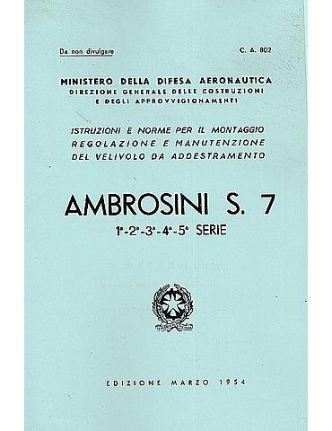Manuale Manutenzione - Ambrosini S-7