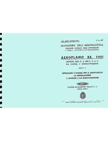 Manuale Manutenzione - Reggiane Re-2001