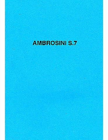 Manuale Pilotaggio - Ambrosini S-7 (Testo in italiano)