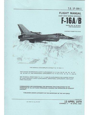 Manuale Pilotaggio - F-16 A/B