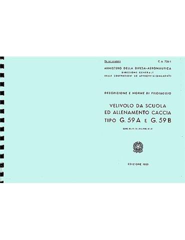 Manuale Pilotaggio - Fiat G-59A E G-59B (Testo in Italiano)