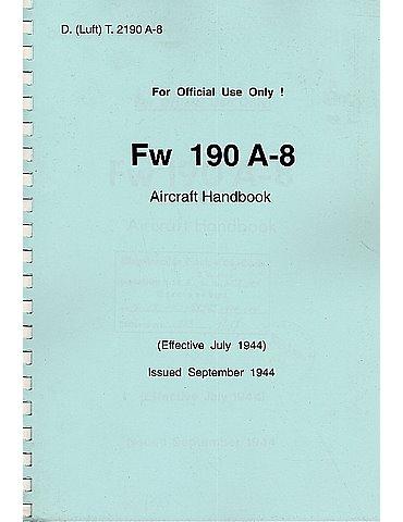 Manuale Pilotaggio - Fw-190 A-8 (Inglese)