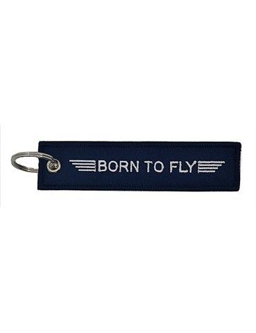 Portachiavi in Tessuto BORN TO FLY