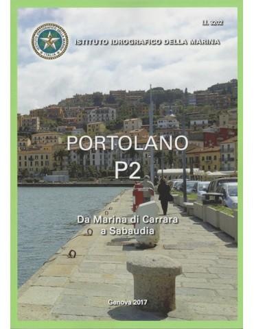 PORTOLANO P2 Da Marina di Carrara a Sabaudia e...
