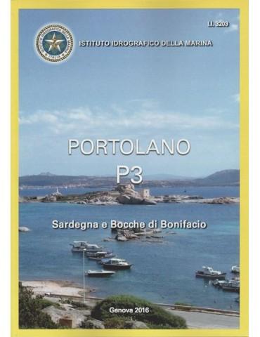 PORTOLANO P3 Sardegna e Bocche di Bonifacio