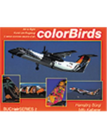 Color Birds. Art in Flight