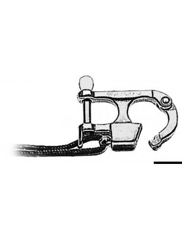 Moschettone per sci nautico 59,5 mm