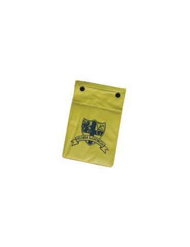 Tin floating document holder