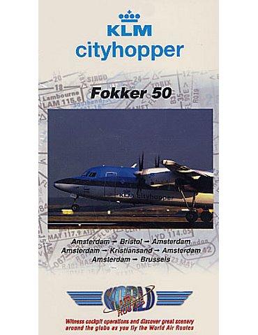 KLM Cityhopper Fokker 50